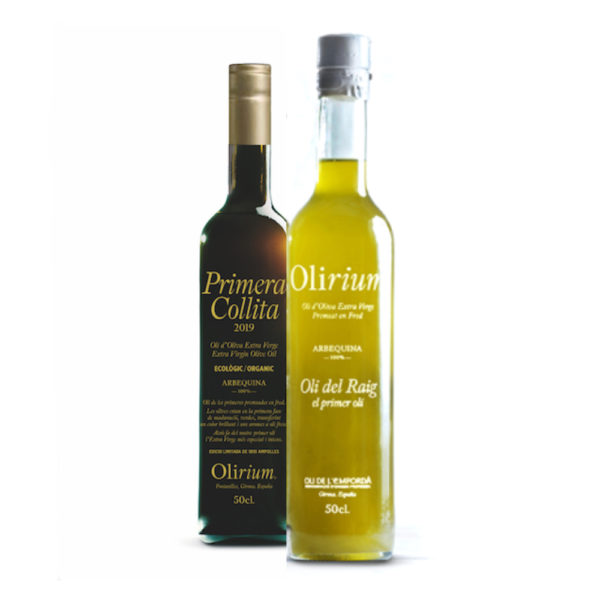 Aceite de oliva virgen extra ecológico del Empordá