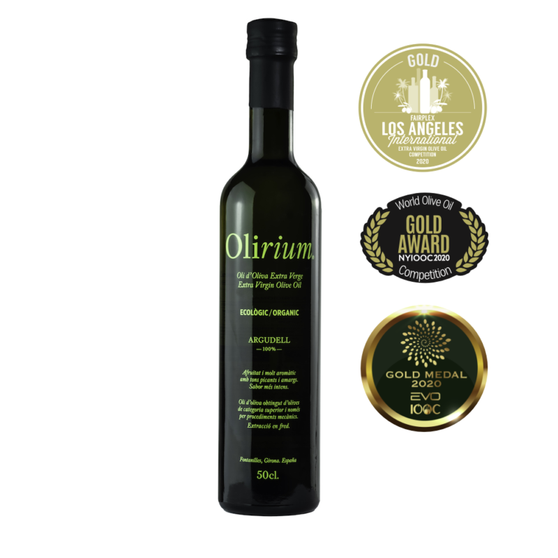 Argudell gold medal winner at NY, LA and Italy Extra Virgin Olive Oil Competitions 2020