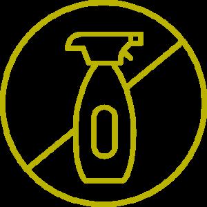 Sin pesticidas químicos o sintéticos